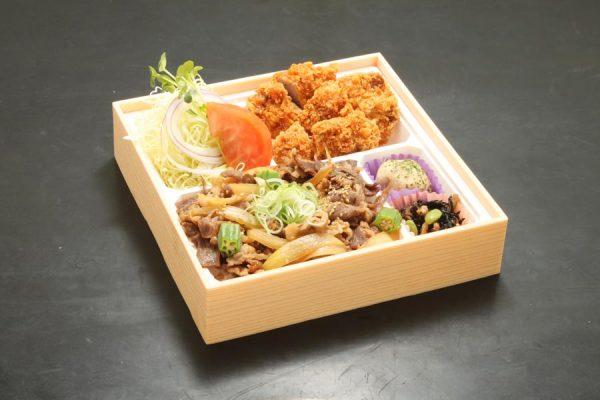 宮崎牛すきやき重と和豚味彩ヒレカツ弁当